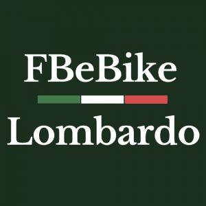 icona quadrata FBeBike sopra, Lombardo sotto e Bandierina colori Italia al centro