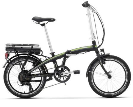 Bici Elettrica pieghevole e-Ischia modello 2018 Lombardo.