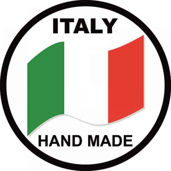 Logo Italy Hand Made: fatto a mano in Italia.