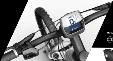 Display Bosch Lcd montato su e_bike Lombardo 2018.