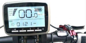 VLCD5 Display per bicicletta elettrica Motore Centrale Active Torque TSDZ2.
