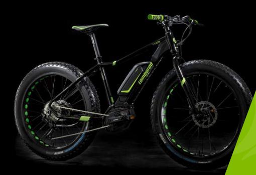 FatBike 2018 eIvrea Fat 250W della lombardo Bikes