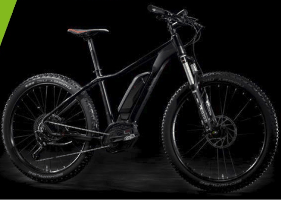 e-Sestriere 9.0 Extreme 27.5+. Bici Elettrica Front 2018 by Lombardo