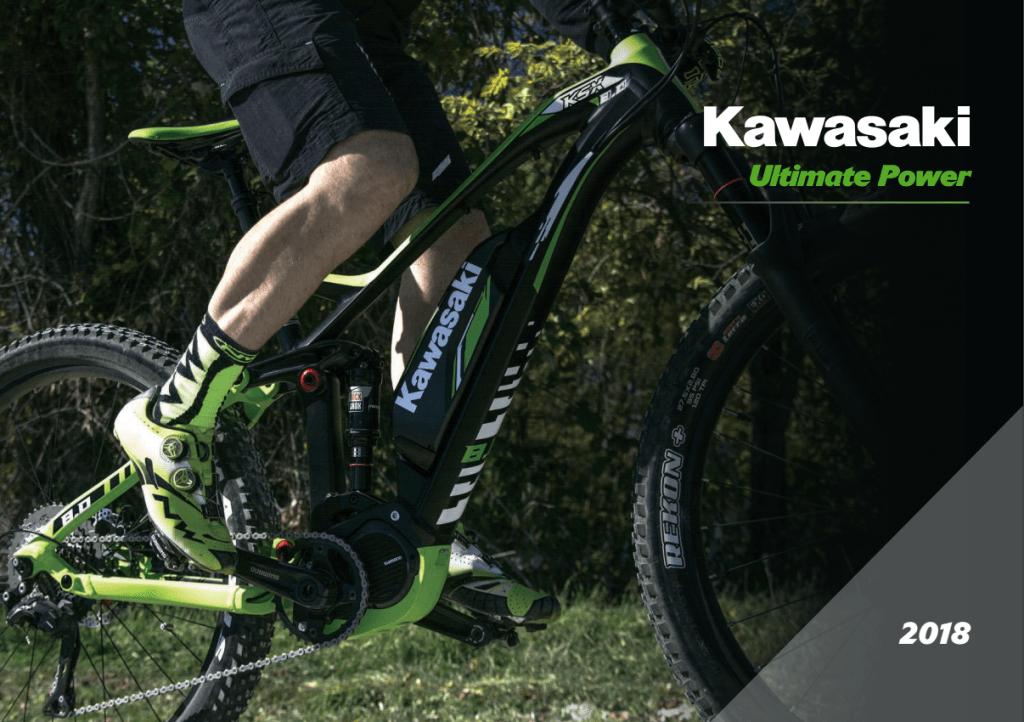 Kawasaki e-Bike 2018 motore centrale Bosch o Shimano