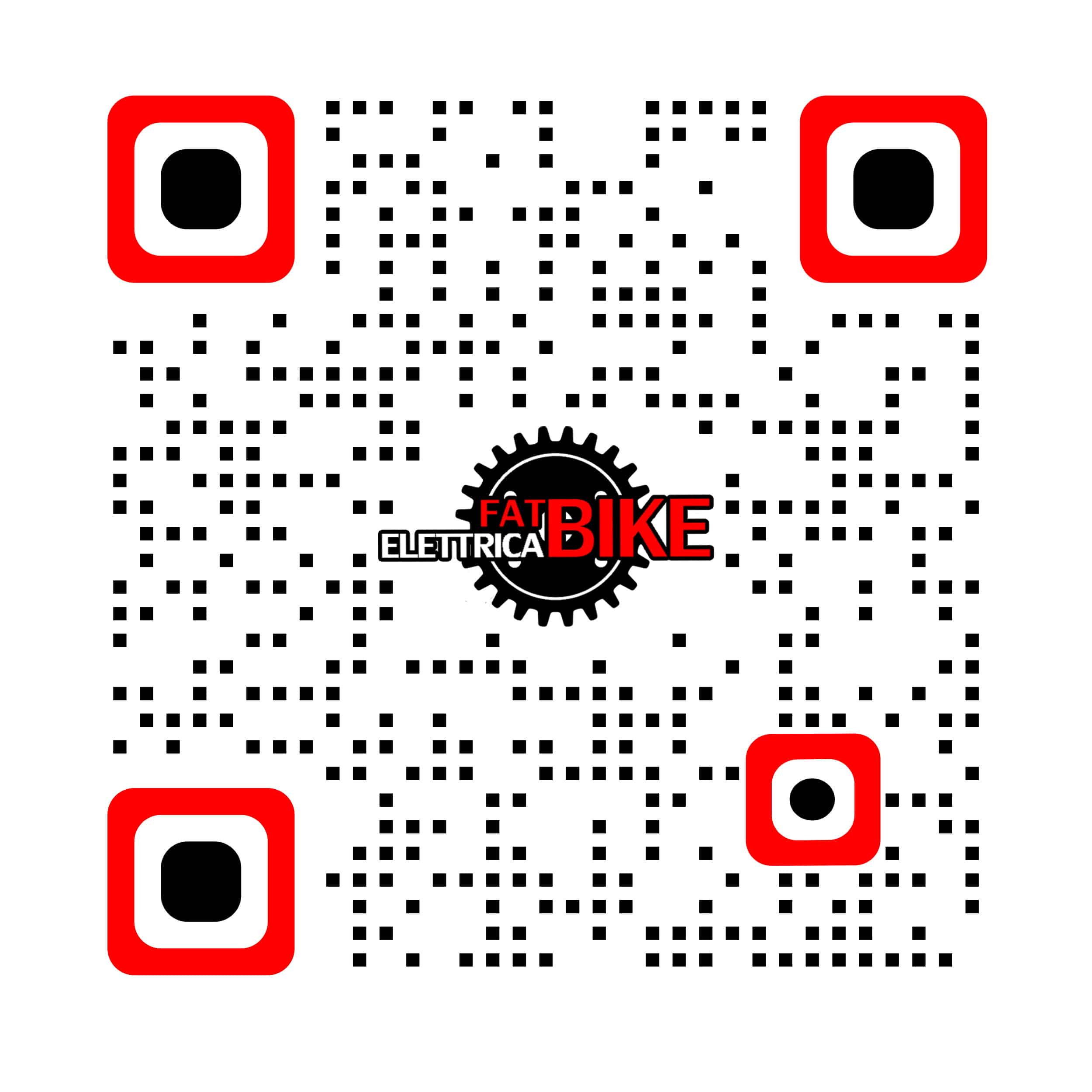 QR Code FatBike-Elettrica.it The Quick Response Code.