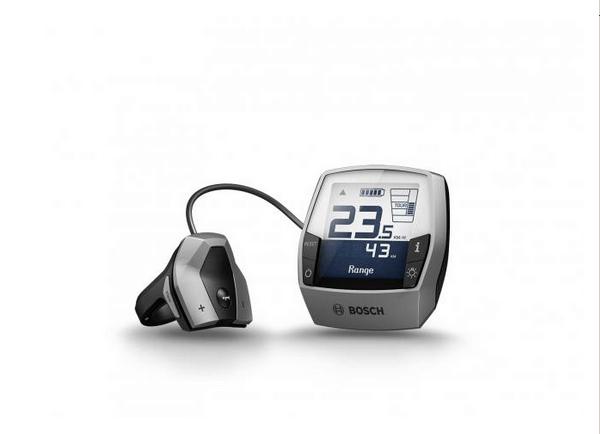 Intuvia Display Bosch per e-bike: Kit Retrofit con unità comandi inclusa. colore Platino.