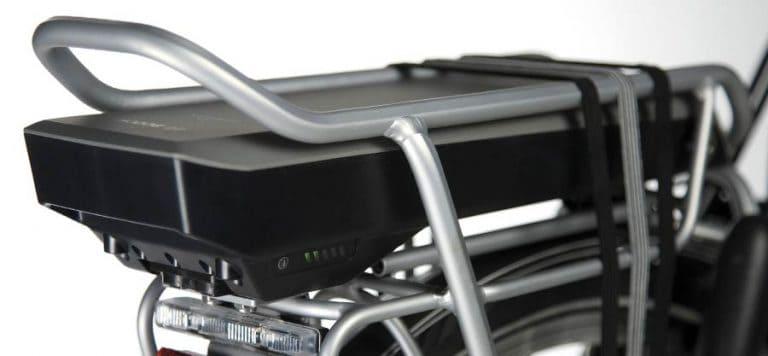 Batteria Portapacchi Bosch da 300/400/500 Watt, colore Nero, Platino e Antracite.