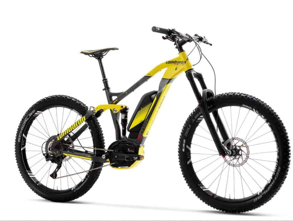 e-Sempione 27.5+ Pro Enduro Full Suspension e-MTB Elettrica 2018 by Lombardo.