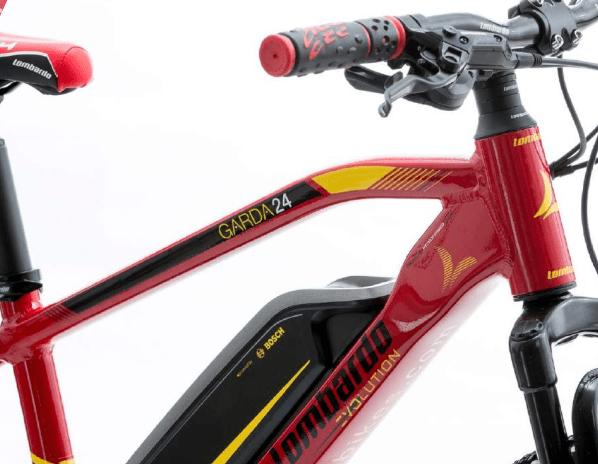 e-Bike eGarda per adolescente ragazzo, lombardo 2018 pedalata assistita.