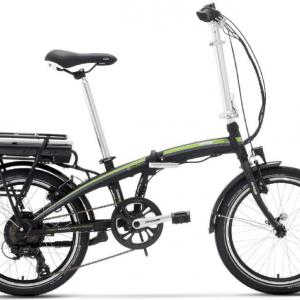 Bici Elettrica Pieghevole e-Ischia Lombardo 2018 Con motore alla ruota posteriore Bafang.