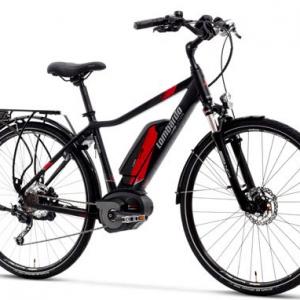 Lombardo 2018 e-Bike eRoma Uomo Trekking con forcelle ammortizzate, luci e portapacchi.