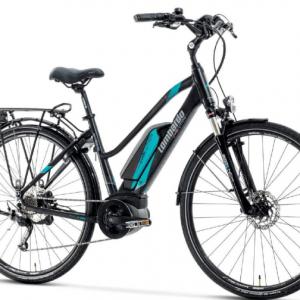 eRoma 6.0 Trekking Donna. e-Bike Lombardo 2018 motorizzata Bosch.