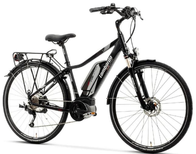 eRoma 6.0 Trekking Uomo. e-Bike Lombardo 2018 motorizzata Bosch.