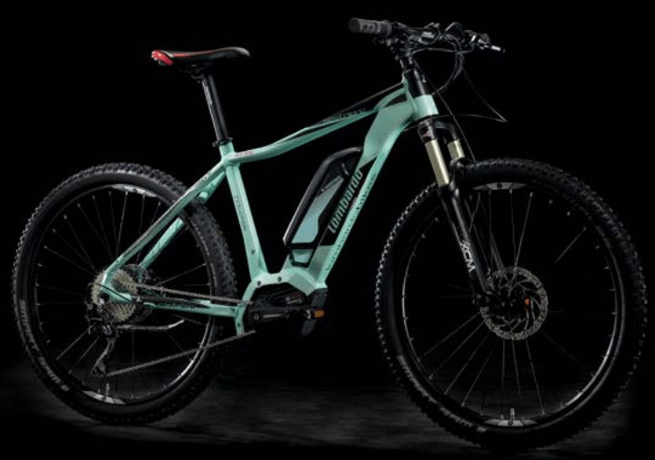 2018 e-Sestriere Sport 5.0 Front. Lombardo e-Bike Hard-Tail.