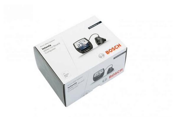 Intuvia Display Bosch in scatola per e-bike: Kit Retrofit con unità comandi inclusa.