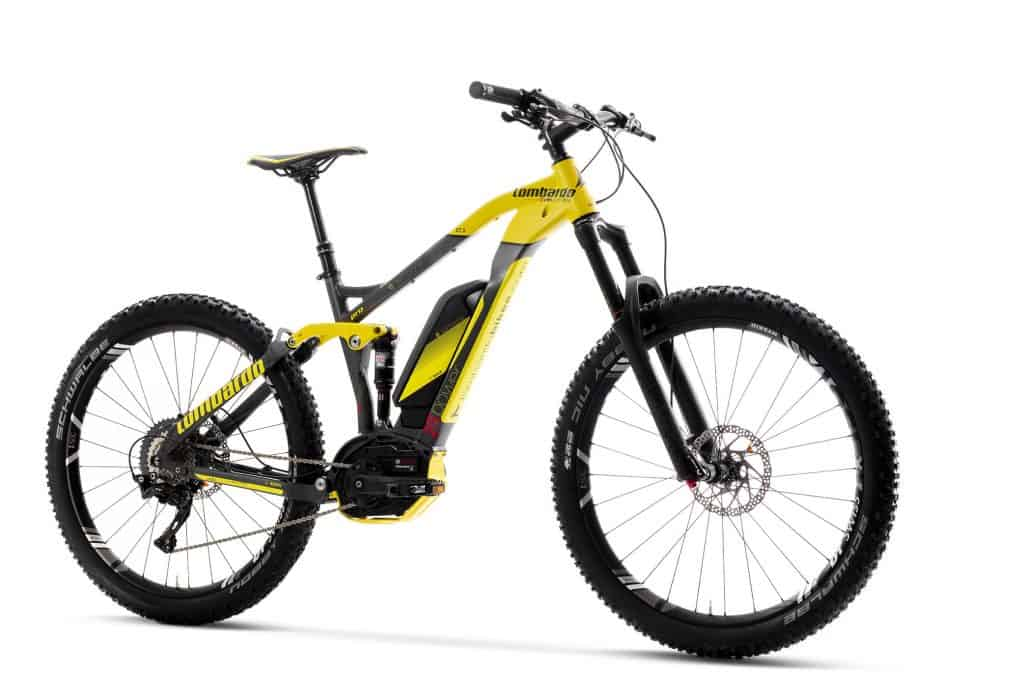 Lombardo e-Bike MTB 2018 eSempione 27.5+ Pro Enduro Full Suspension