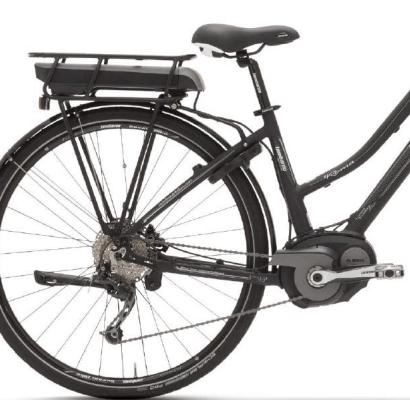 e-Bike e-roma 4.0 2018 lombardo, vista del retro eBike.