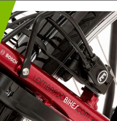 Freno idraulico Magura montato su e-bike Lombardo 2018 Montecatini Classic NEXUS.