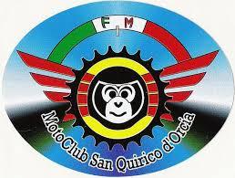 Logo scimmie volanti per giornata test e-bike lombardo a Bagno Vignoni