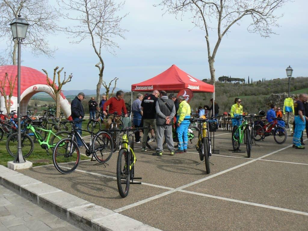 Registrazione e-Bike Tour e Test Val D'Orcia By Lombardo Bici elettriche
