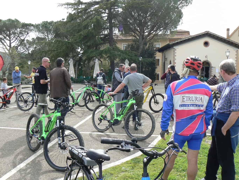 Val D'Orcia: 1° Festa e Bike Tour e Test Lombardo Bicicletta elettrica