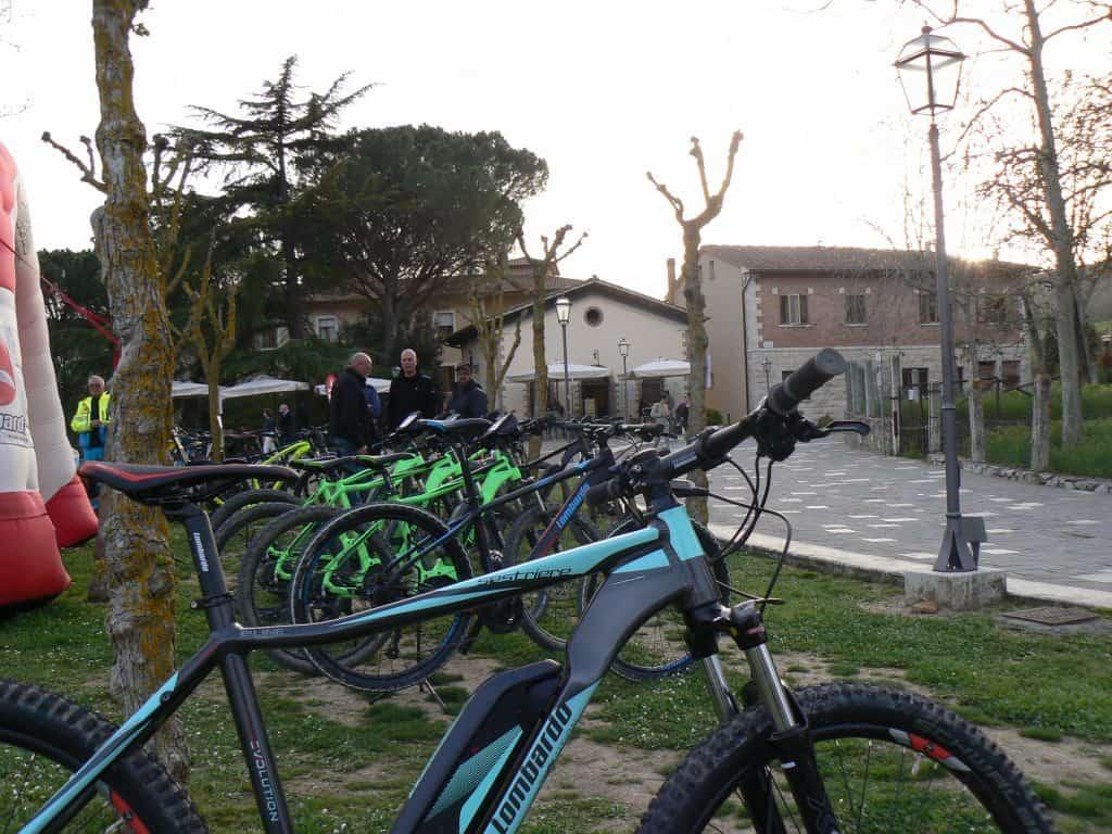 Queste bici Lombardo sono solo alcune di quelle disponibili per i Test