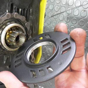 Paracatena Miranda: inserimento nella e-bike