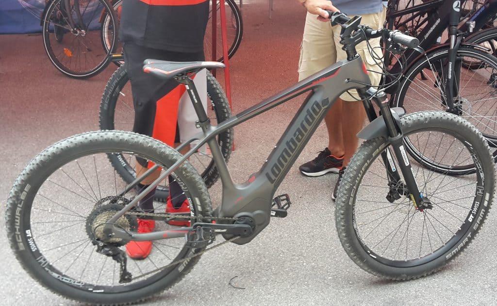 Mont-Blanc Lombardo ebikes in carbonio e batteria integrata