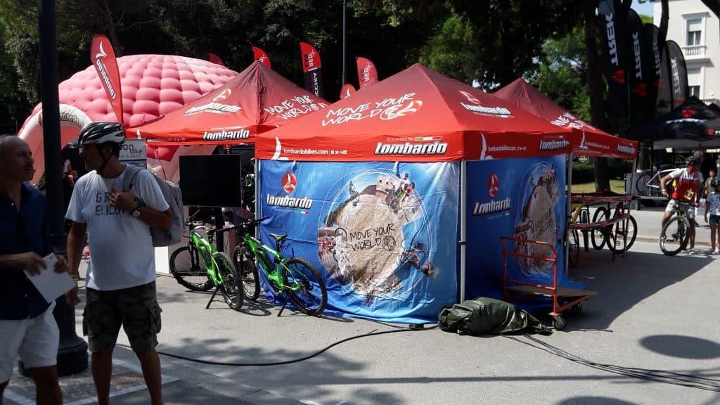 Stand Lombardo e-Bikes a Rimini Italian Bike Festival 2018.