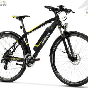 """Valderice Fitness 28"""", con parafanghi e luci modello 2019. Valderice WM Bafang Rear Hub Bici Elettrica 2019 by Lombardo Bici."""