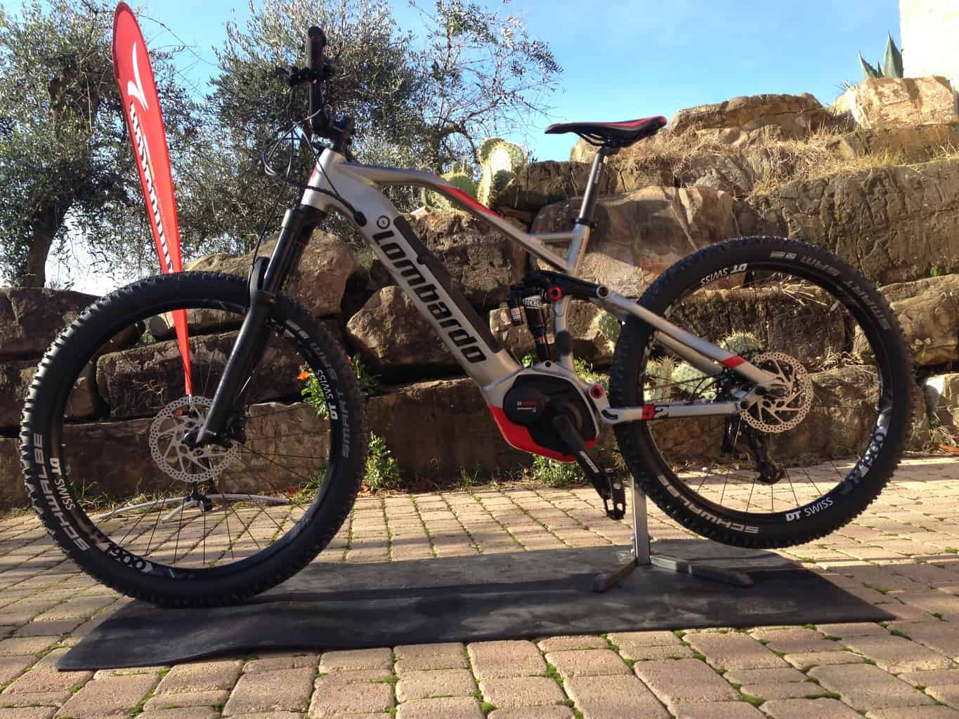 Sempione Pro 2019 Full Suspension 2019 e-MTB Lombardo Bikes