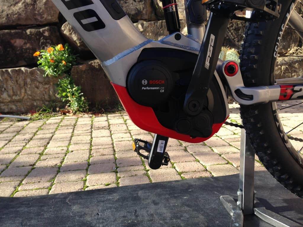 Migliori bici elettriche 2019: vista motore Bosch Cx montato su Sempione Pro by Lombardo