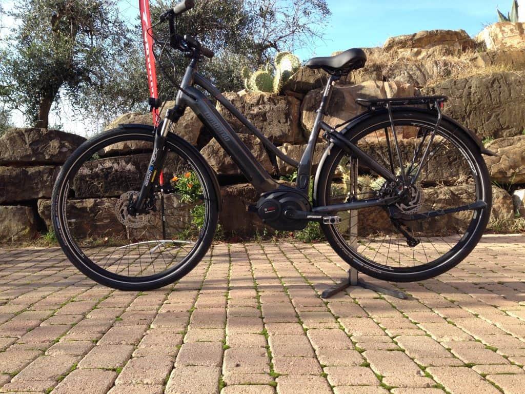 e-Roma 8.0 bici elettrica city-trekking by lombardo bikes 2019