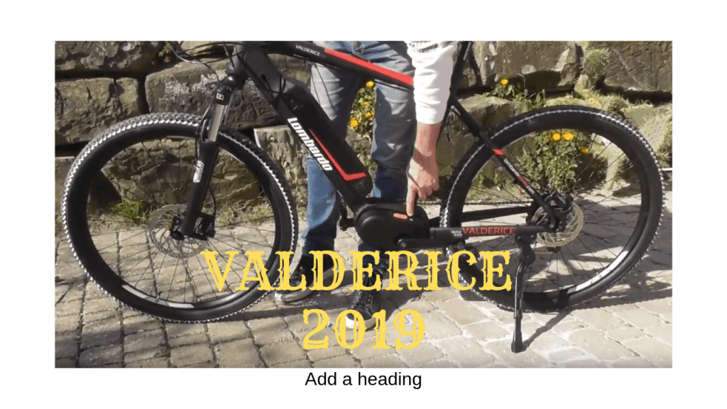 Valderice motore bafang by lombardo Bici 2019 eBike