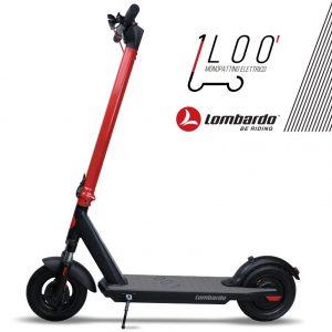 LOO-X21 Monopattino Elettrico 350 Watt Lombardo Bikes