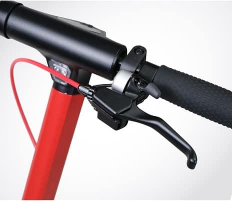 LOO-X21-Monopattino-Elettrico-manubrio-leva-Lombardo-Bikes